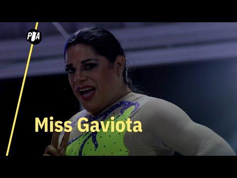 Miss Gaviota, luchadora trans y reina del glamour