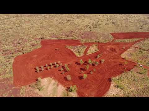 UAV Survey - Rehabilitation of Mining Area, Pilbara WA