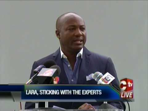 Brian Lara Speaks Out On Negative Criticisms Of Stadium