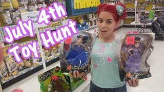 July 4th Toy Hunting FOUND NEW Disney Descendants | Target Monster High Clearance
