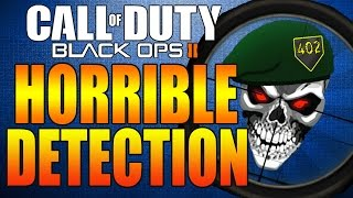 Call Of Duty Black Ops 2 | Horrible Hit Detection on Hijacked! COD BO2 SCAR-H Multiplayer Gameplay