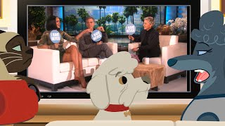 Ellen's Pet Dish with George Clooney and Rihanna