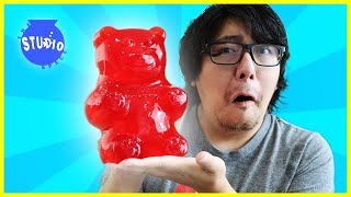 EATING SUPER SOUR CANDY! DIY Sour Candy Challenge with Ryan's Mommy