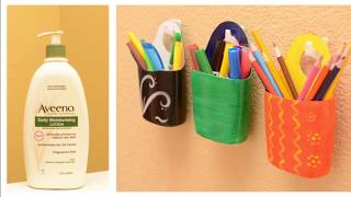 12 ways to Reuse or Recycle Old shampoo Bottles 🤗 | Learning Process