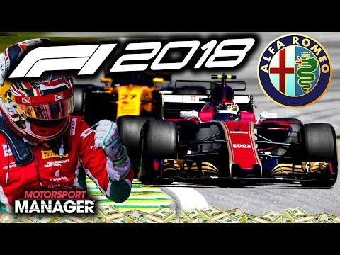 TENSE FINAL LAPS! - F1 2018 Alfa Romeo Manager Career Part 21