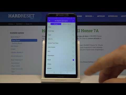 Huawei Honor 7A — Изменить мелодию вызова