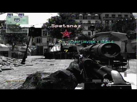 Libertad digital! Megaupload: Gameplay musical MW3