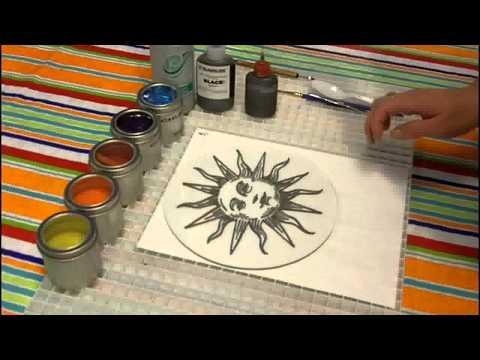 Fused Glass Sun