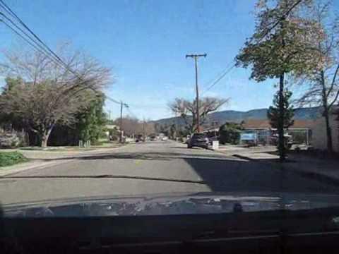 Ojai - A drive through Meiners Oaks