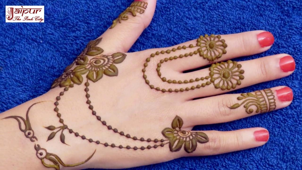 easy mehndi design dikhaye