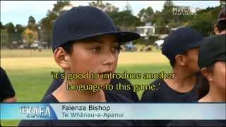 Baseball spoken here... in Māori!