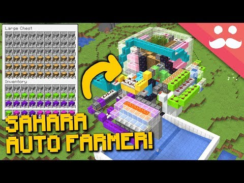 SAHARA MULTI FARM! Minecraft 1.14