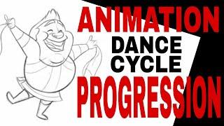 ARMENIAN DANCE ANIMATION PROGRESSION