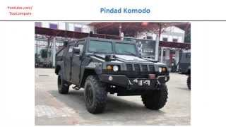 Pindad Komodo VS Fennek, personnel carriers full specs