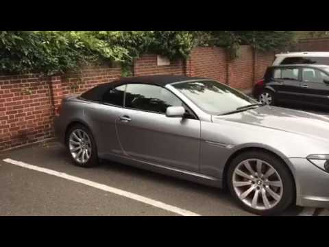 Soft Top not locked - problem with BMW 6 Series - YouTube