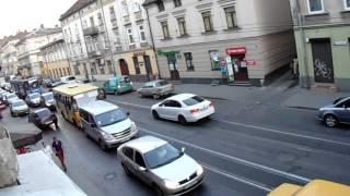 Львов #2 Вид из окна. Бесят пробки!!1