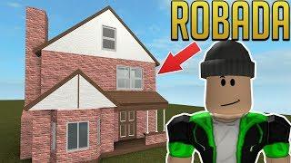 I ENTER TO ROB MY HOME - BloxBurg - ROBLOX