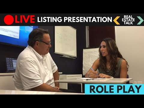 LIVE Real Estate Listing Presentation - Difficult Seller