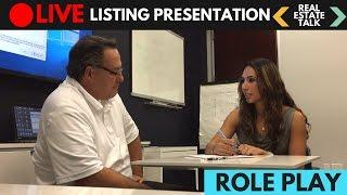 LIVE Real Estate Listing Presentation - Difficult Seller
