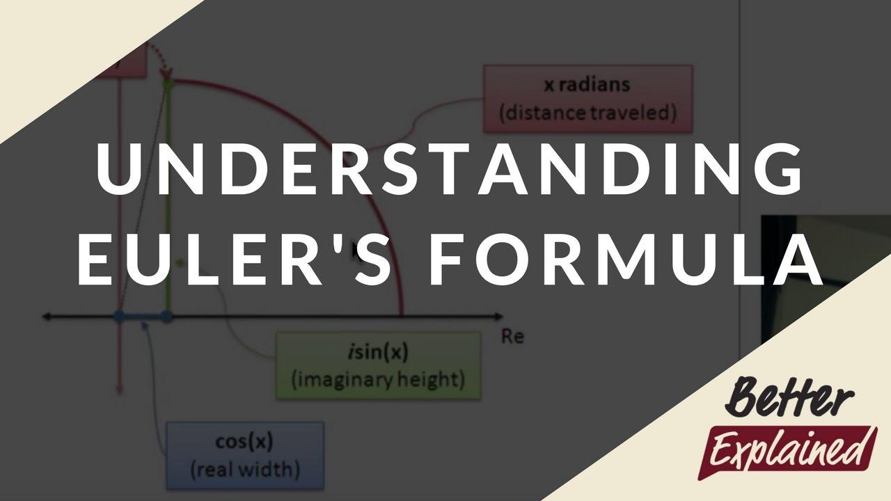 Intuitive Understanding Of Euler's Formula – BetterExplained