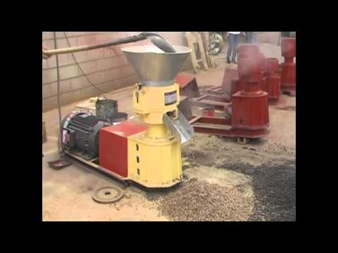 homemade wood pellet machine