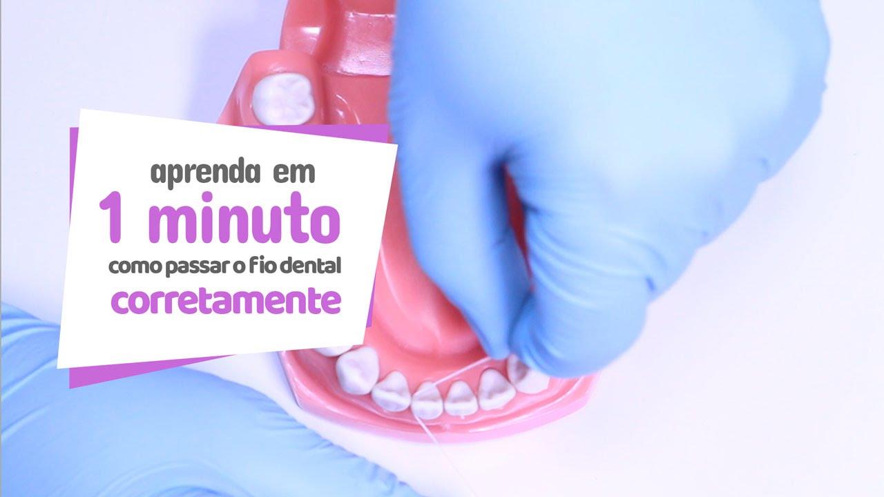 83ef480f1 Como passar o fio dental corretamente - Cir Hospital Odontológico ...