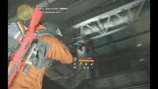The Division 1.2 Falcon Lost Hard, only pistol solo