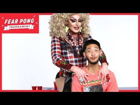 Fear Pong Tournament: Drag Queen vs. Rapper | Fear Pong | Cut