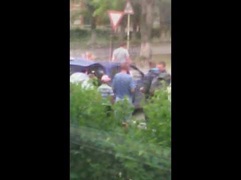 Южноуральск: Авария на перекрестке улиц Ленина и Мира. 04 июля 2016