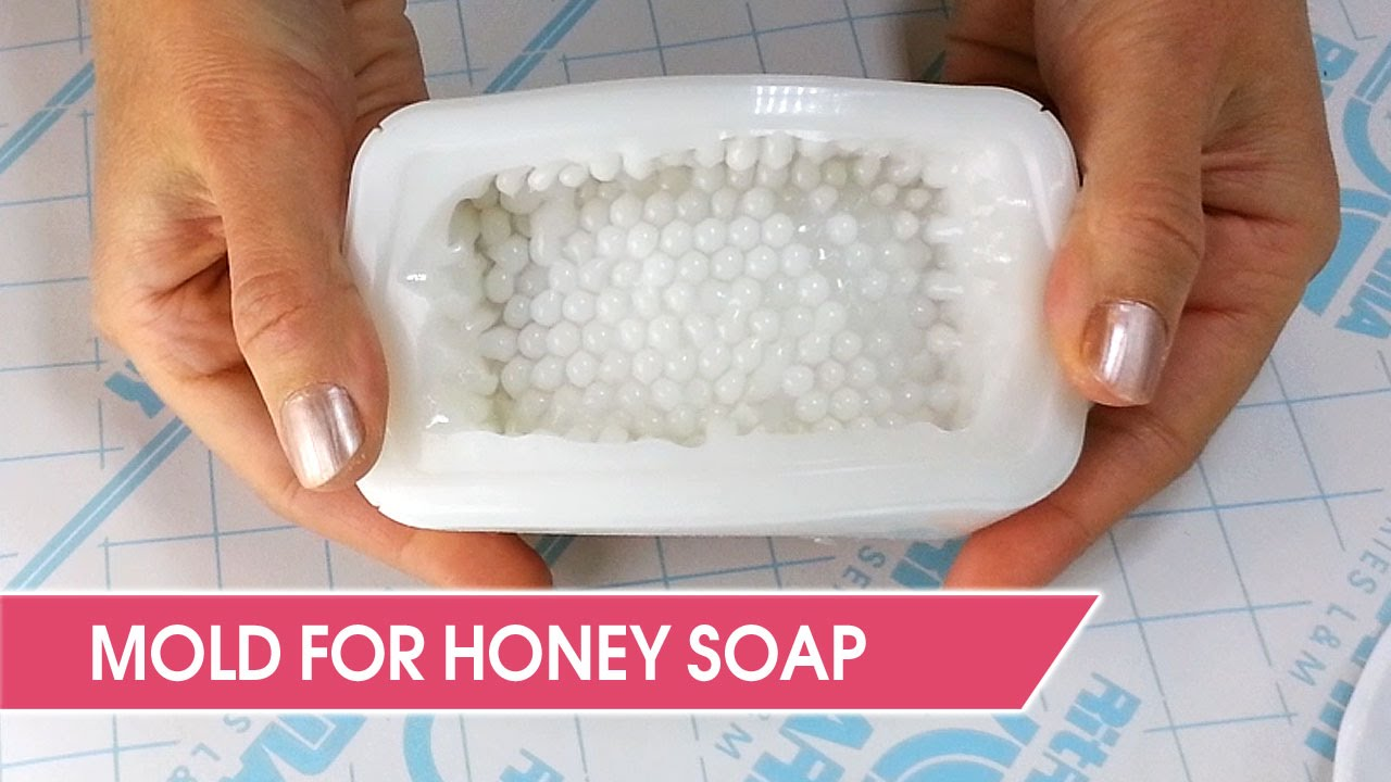 Diy How To Make A Unique Silicone Mold For Honey Soap Youtube