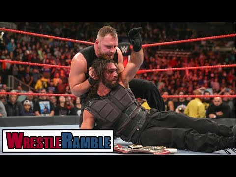Dean Ambrose TURNS HEEL! WWE Raw, Oct. 22, 2018 Review | WrestleTalk's WrestleRamble