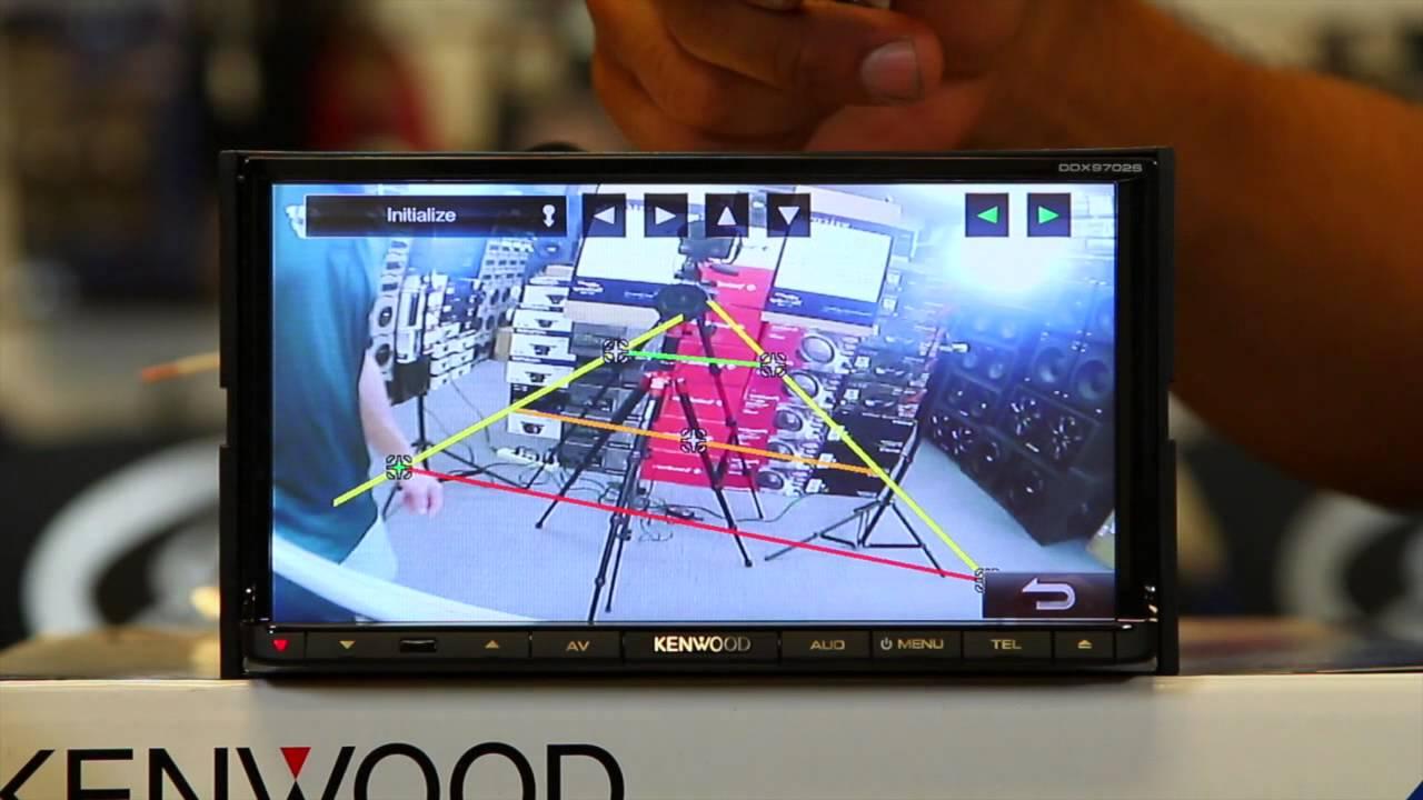 How to use the backup camera settings on Kenwood's new DDX9702S smart phone multi media radio