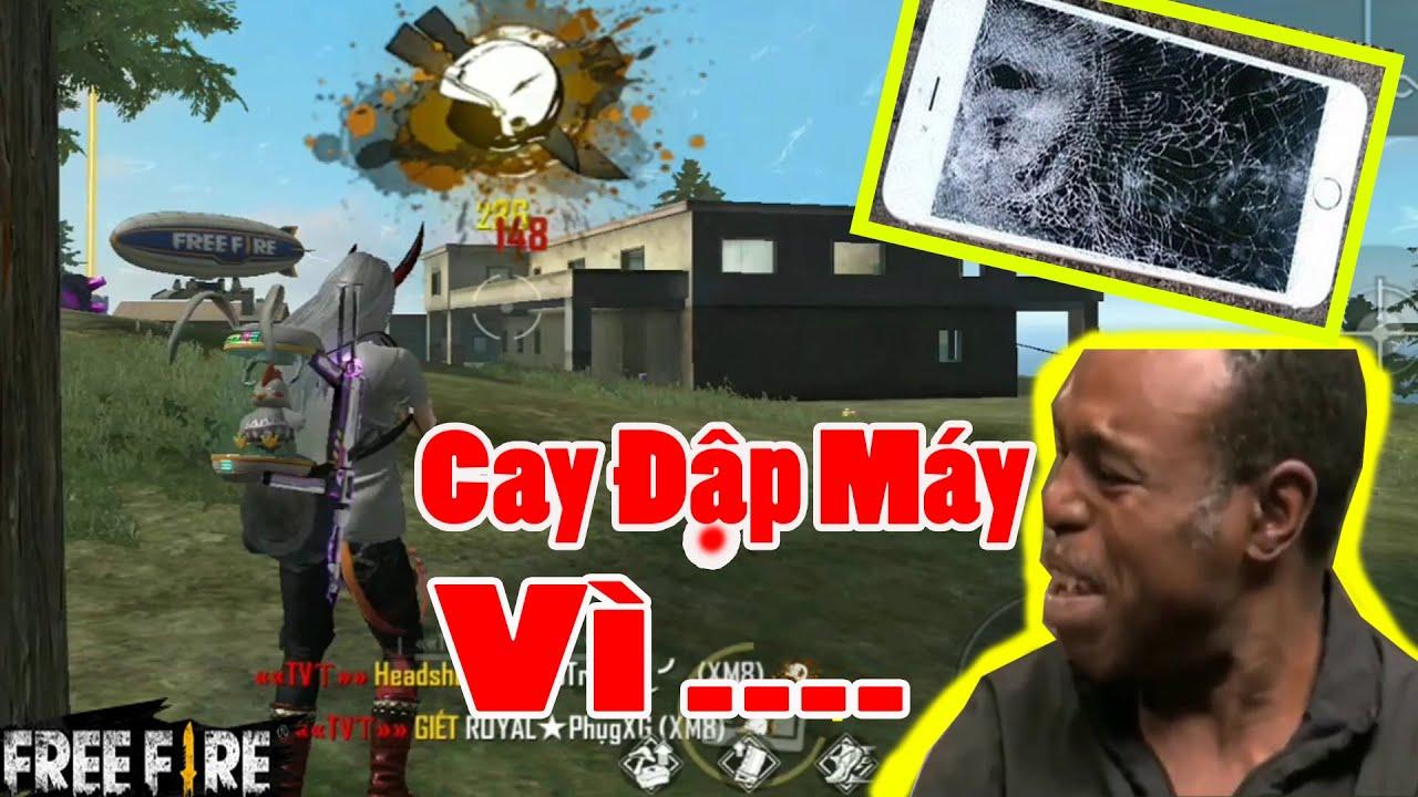 Trận Đấu Rank Mùa 16 Khiến TVT Cay Cú Phải Đập Điện Thoại Vì Điều Này | Free Fire