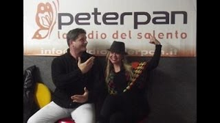 Acoustica Project Interview (Riccardo Fersini and Danna Miranda) at Radio Peter Pan studios - Italy