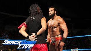 Shinsuke Nakamura confronts Jinder Mahal: SmackDown LIVE, Aug. 29, 2017