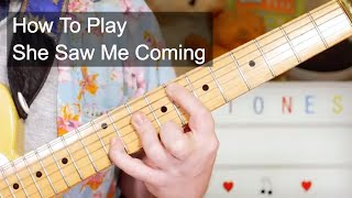 'She Saw Me Coming' Rolling Stones Guitar Lesson