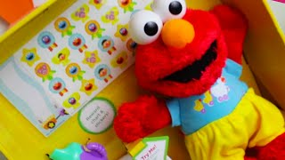 Potty Time Elmo Toy - Potty Training Elmo Learns to Potty - Rare & Discontinued