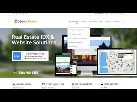 iHomefinder IDX Tutorial