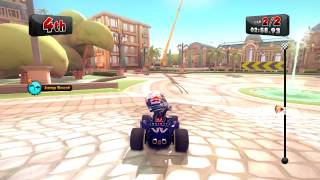 F1 Race Stars - All locked Shortcut & Key Locations - Red Carpet Achievement