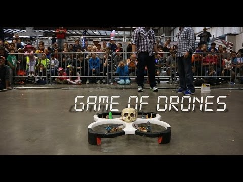 Meet the 15-Year-Old Prodigy Dominating Drone Fight Club