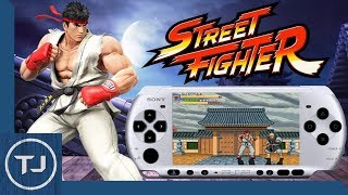 PSP Street Fighter Ultimate Collection (Homebrew Game)