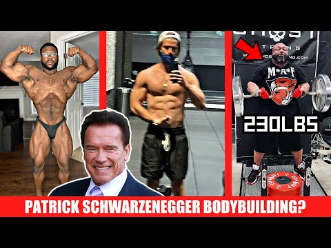 Arnold's OTHER Son Bodybuilding Now? + Keone's Next Show + 230lb Strict Curl?+ Shawn Rhoden + MORE