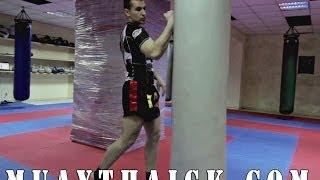 Как научиться драться - Ставим нокаутирующий удар для самообороны на улице(Бесплатные и проверенные 4 видео урока покажут как Освоить идеальную технику Муай Тай уже через 2 недели,..., 2014-04-30T05:46:53.000Z)