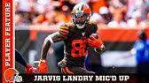 Jarvis Landry Mic'd Up in Week 1 vs. Titans   Browns Countdown