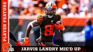 Jarvis Landry Mic'd Up in Week 1 vs. Titans | Browns Countdown