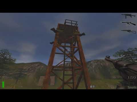 #4 - Return To Castle Wolfenstein Gameplay Deutsch Uncut PC