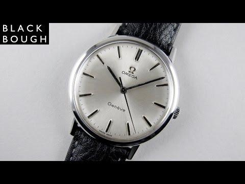 Omega Genève Ref. 131.019 steel vintage wristwatch, circa 1969