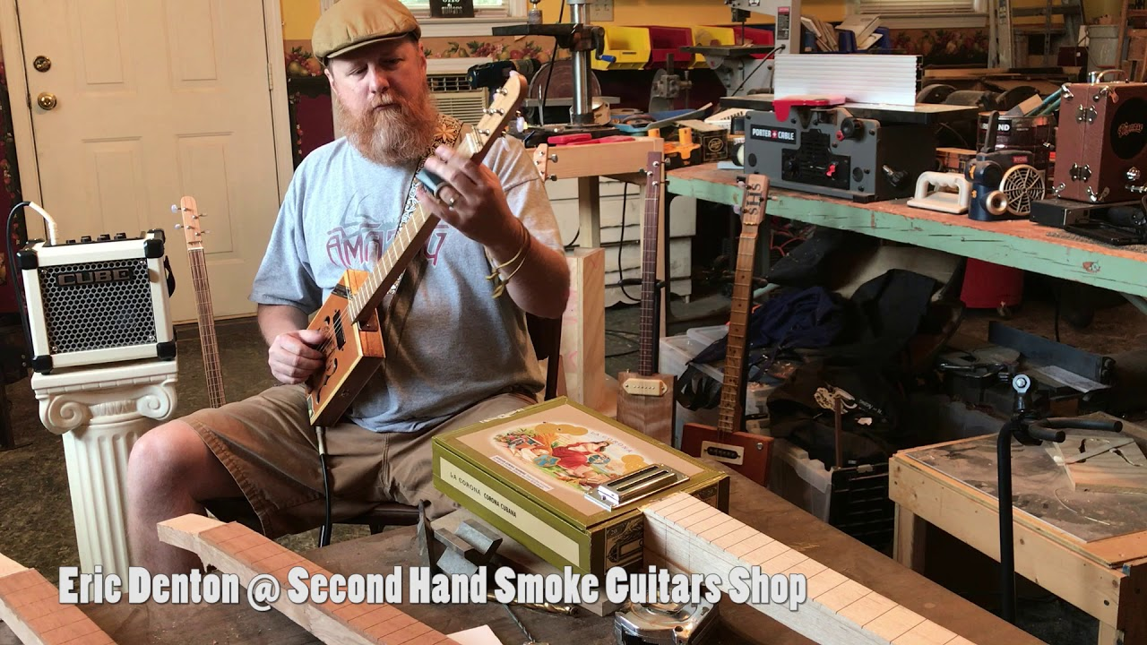 georgia 39 s 1st cigar box guitar festival trade show hood street art center youtube. Black Bedroom Furniture Sets. Home Design Ideas