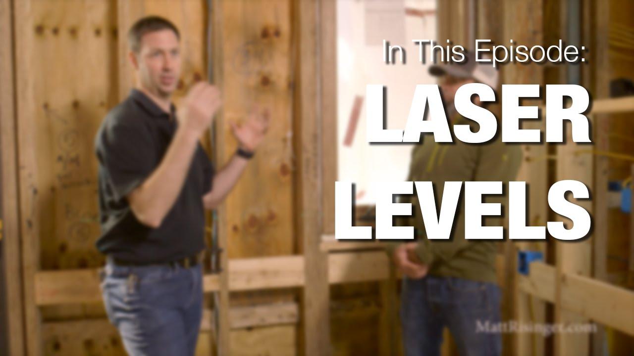 Laser Levels - Framing & Remodeling use tips - YouTube