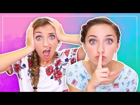 SHH...WE'VE GOT A SECRET! | Brooklyn and Bailey